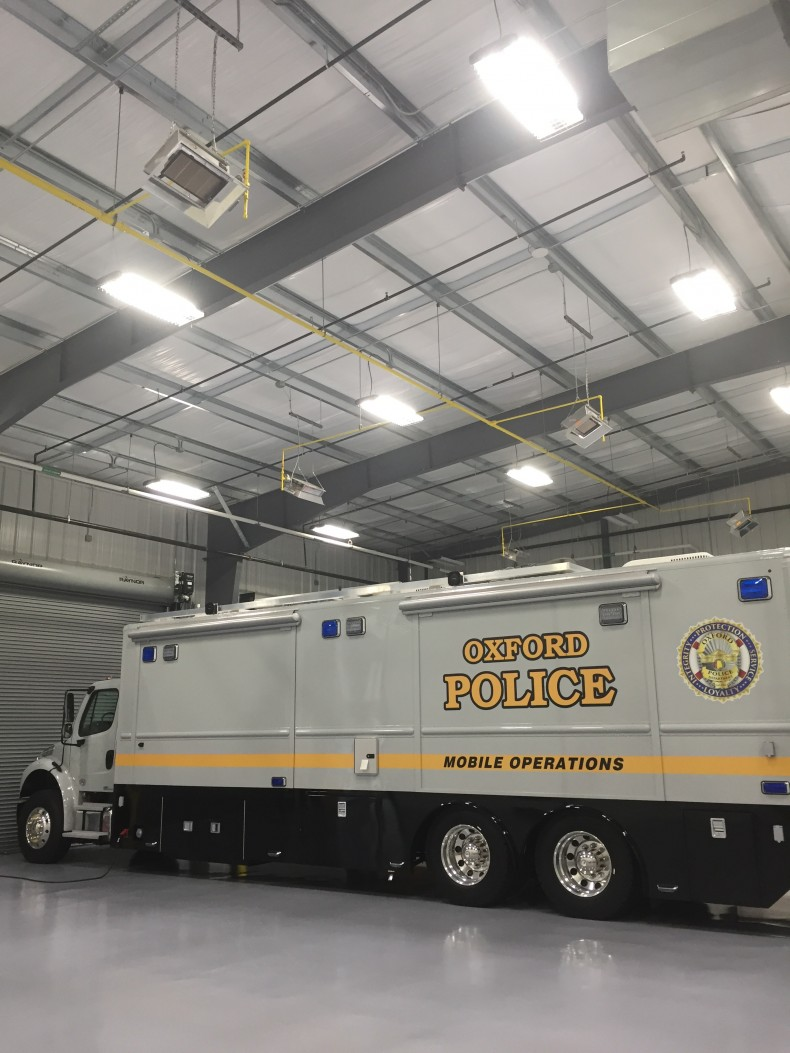 Special Operations Facility - Oxford Police Department