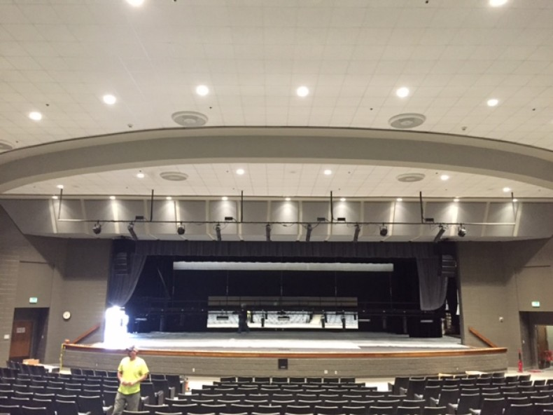 Pelham High School Auditorium Renovation